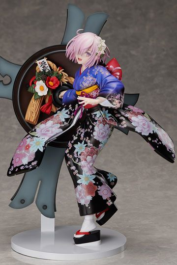 Fate Grand Order Figura Grand New Year Mash Kyrielight 01