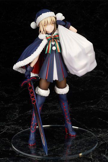 Fate Grand Order Figura Rider Altria Pendragon Santa 23 cm portada