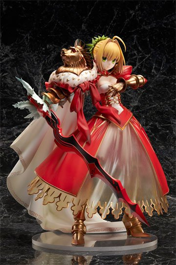 Fate Grand Order Figura Saber Nero Claudius 3rd Ascension 23 cm