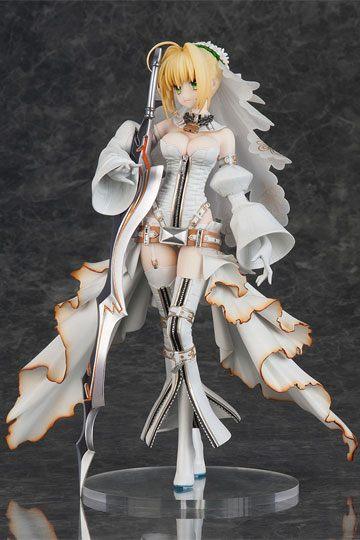 Fate Grand Order Figura Saber Nero Claudius Bride 25 cm portada