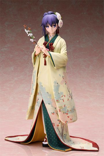 Fate Stay Night Heaven's Feel Figura Sakura Mato con Kimono portada