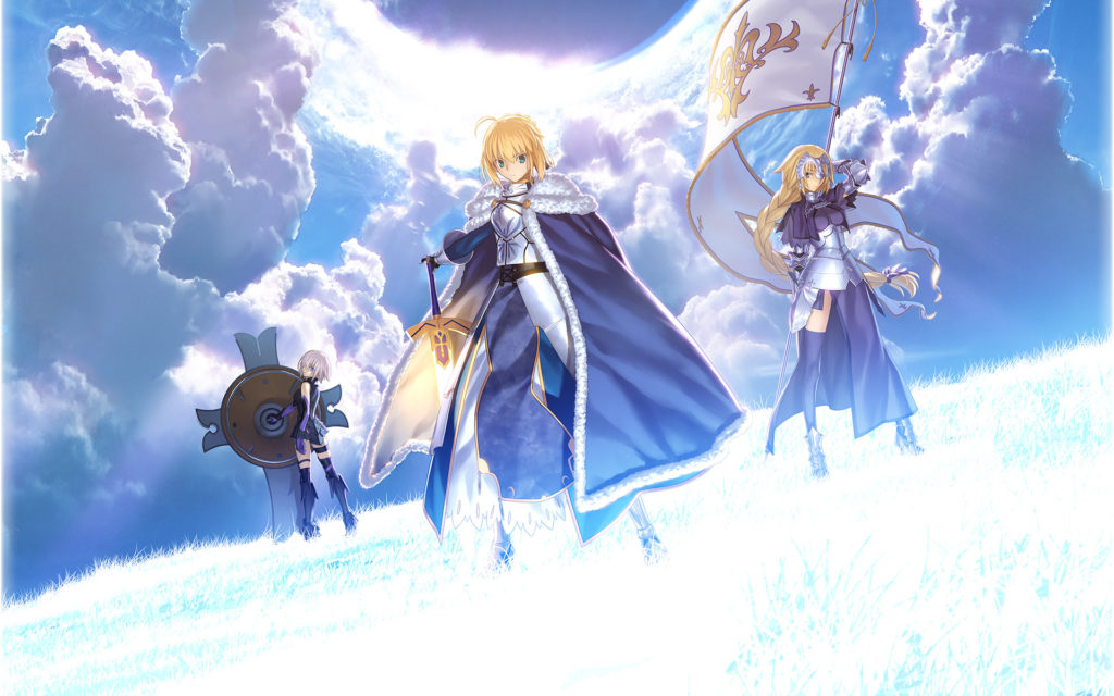 Fate/stay night Personajes Fate Grand Order